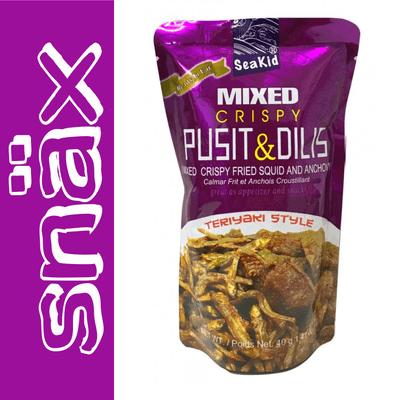 snäx - Der Knabberpodcast | Snacks und Knabbereien aus aller Welt - 022 | Sea Kid - Mixed Crispy Pusit & Dilis Teriyaki Style | Philippinen