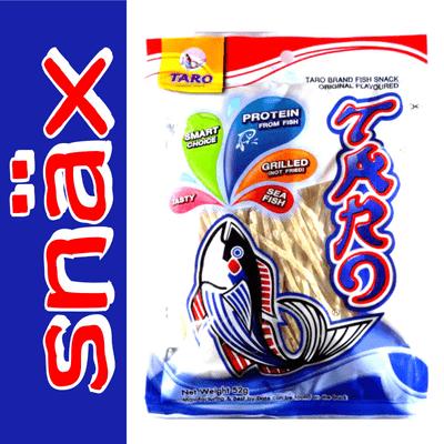 snäx - Der Knabberpodcast | Snacks und Knabbereien aus aller Welt - 007 | Taro - Fish Snack Original Flavoured | Thailand