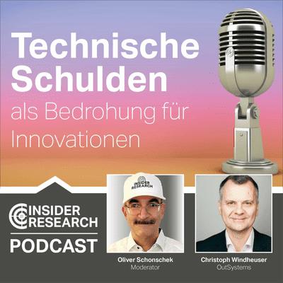 Technische Schulden als Bedrohung für Innovationen, mit Christoph Windheuser von OutSystems