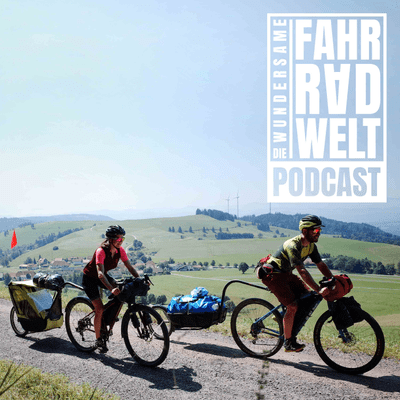Draussendrang - Katrin und Jakob berichten vom Bikepacking mit Baby