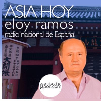 """Contactojapon.com - 034. Con Eloy Ramos en """"Asia Hoy"""", de Radio Nacional de España."""