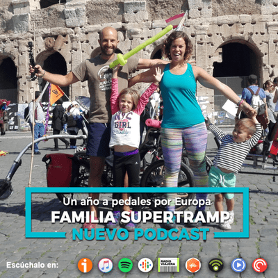Un Gran Viaje - Un año pedaleando en trike por Europa, con la Familia Supertramp | 24