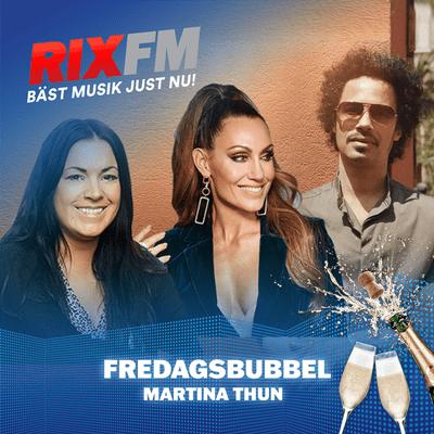 Martina Thun - Fredagsbubbel med Eagle-Eye Cherry & Lina Hedlund!