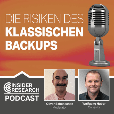 Insider Research im Gespräch - Die Risiken des klassischen Backups, ein Interview mit Wolfgang Huber von Cohesity