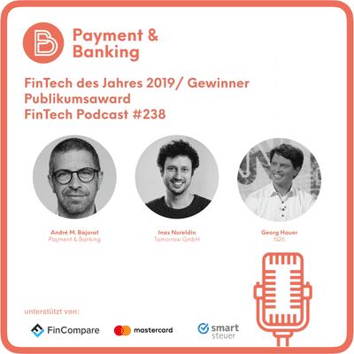 Payment & Banking Fintech Podcast - FinTech des Jahres Publikumsgewinner