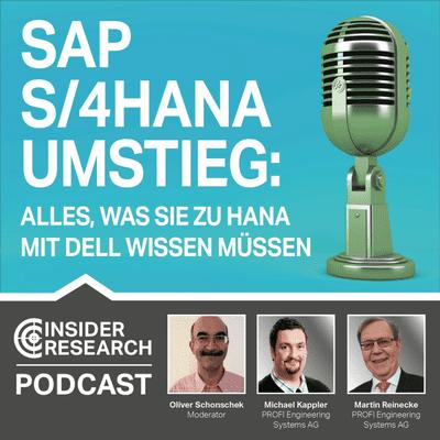 Insider Research im Gespräch - Alles, was Sie zu SAP HANA mit Dell wissen müssen, Martin Reinecke und Michael Kappler von PROFI AG