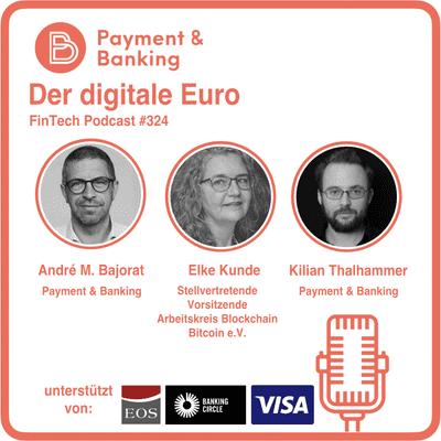 Payment & Banking Fintech Podcast - Elke Kunde über den digitalen Euro