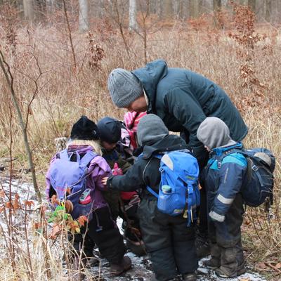 Det Gode Børneliv - Lykken er at gå i skovbørnehave!