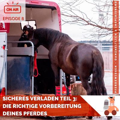 Pferdewissen - ganzheitlich & inspirierend mit Sandra Fencl - Sicheres Verladen, Teil 3: Die richtige Vorbereitung Deines Pferdes