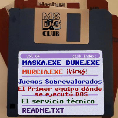 MS-DOS CLUB - MS-DOS CLUB Podcast  Vol 4  julio de 2020
