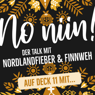 """No Niin! Der Podcast mit Nordlandfieber & Finnweh - Auf Deck 11 mit Sami Osala & Patrik Eriksson von """"Stone Blue Electric"""""""