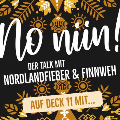 """No Niin! Der Podcast mit Nordlandfieber & Finnweh - Auf Deck 11 mit Andrea Ullius von """"Schwedenhappen"""""""