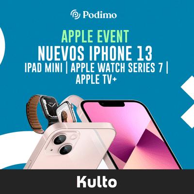 Nuevos iPhone 13 | iPad mini | Apple Watch series 7 | Apple TV+