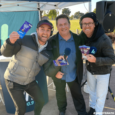 Jimmy & Nath - Hit Hobart 100.9 - HIT THE BURBS: Jamie Salter From The Claremont Cadbury Factory
