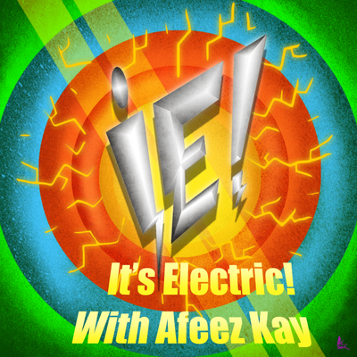 It's Electric! The Electric Car Show with Afeez Kay - A Work of Tesla Art with Erik Dezsany