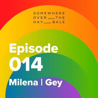 Somewhere Over The Hay Bale - Milena   Gey