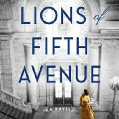 The Avid Reader Show - The Lions Of Fifth Avenue. Fiona Davis