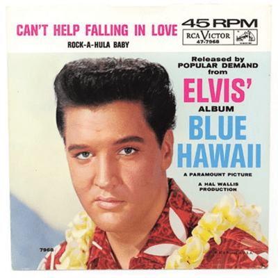"El Recuento Musical - ""Can't help fallin in love"" de Elvis - Una canción de amor europea."