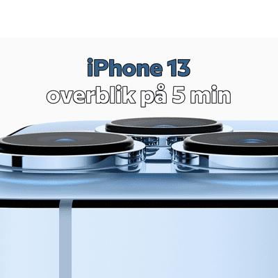 MereMobil.dk - Det vigtigste fra iPhone 13-eventen