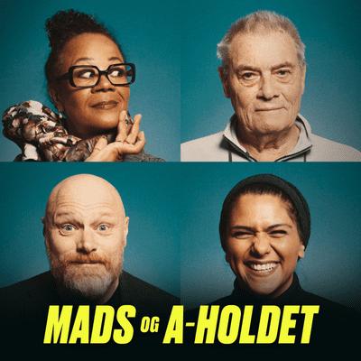 Mads og A-holdet - Episode 8, del 1: Modstand mod fars nye kone, højskoleophold på Zoom og chef, der smasker.