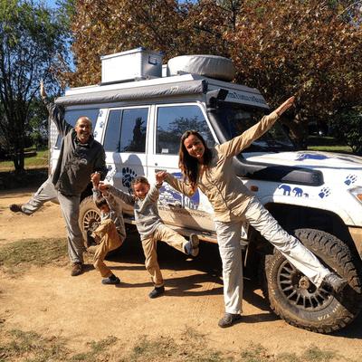 Un Gran Viaje - Cruzar África en familia en un 4x4, con David y Fani de Familia Sin Rumbo | 66