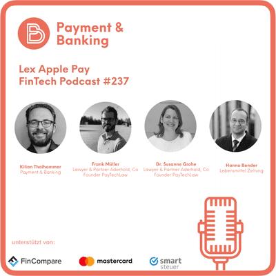 Payment & Banking Fintech Podcast - FinTech Podcast #237