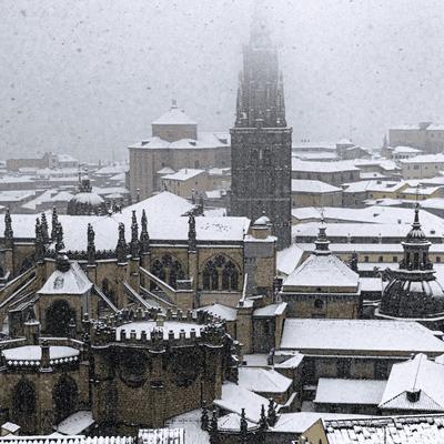 La Noche de Dieter - En este país llamado España: Temporal de frío y nieve