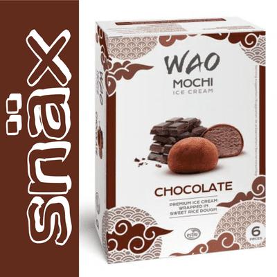 snäx - Der Knabberpodcast | Snacks und Knabbereien aus aller Welt - 003 | WAO - Mochi Ice Cream Chocolate | Japan
