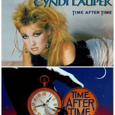 """El Recuento Musical - """"Time after time"""" un título de película para uno de los éxitos de Cyndi Lauper"""
