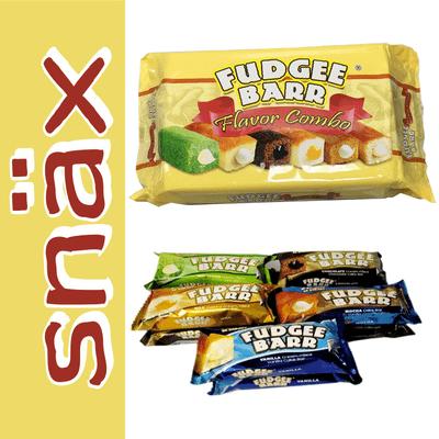 snäx - Der Knabberpodcast | Snacks und Knabbereien aus aller Welt - 035 | Fudgee Barr - 5 Sorten | Philippinen