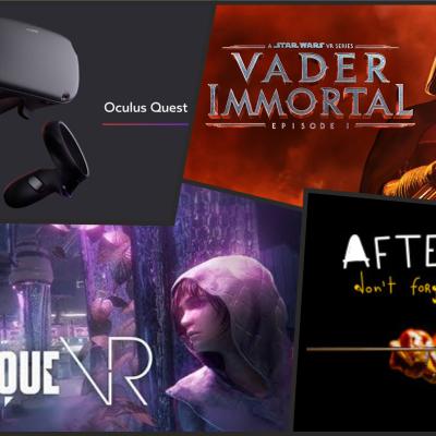 VR Podcast - Alles über Virtual - und Augmented Reality - E155 - Oculus Quest Teil 2 und da war doch noch was....ein Bisschen Gamescom
