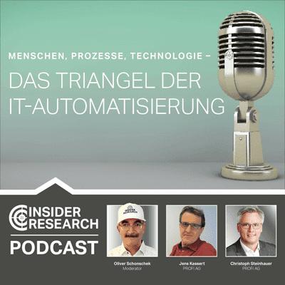 Menschen, Prozesse, Technologie – das Triangel der IT-Automatisierung