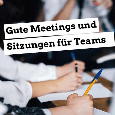 Jugendleiter-Podcast - Gute Meetings und Sitzungen für Teams