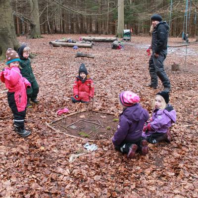 Det Gode Børneliv - Mindfulness og meditation i skovbørnehaven! Hvad er et skovhvil? Mød en hjertepædagog!