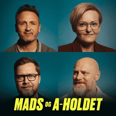 Mads og A-holdet - Episode 16: Polterabend med stripshow, baby i kollektiv og badge på handicappet datter.