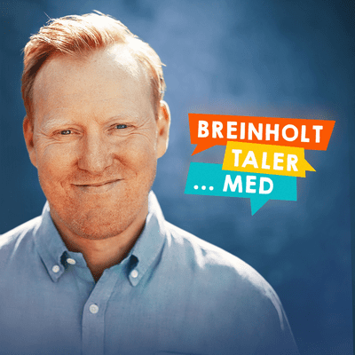 coverart for the podcast Breinholt taler … med
