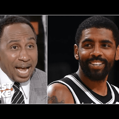 Is Stephen A. Turning Kyrie Into A Hero?