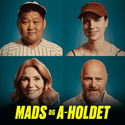 Mads og A-holdet - Episode 23: Utroskab i venneflokken, bryllup med lurende familiedrama og uenighed i bofællesskab.