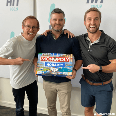 Jimmy & Nath - Hit Hobart 100.9 - HOBART MONOPOLY: What Should We Put On The Board?