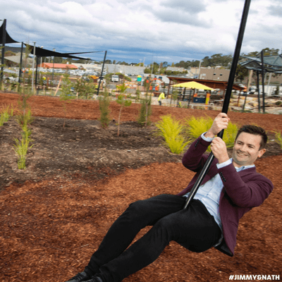 "Jimmy & Nath - Hit Hobart 100.9 - DEAN WINTER: Kingston's New Playground Is The ""Best Playground In Tasmania"""