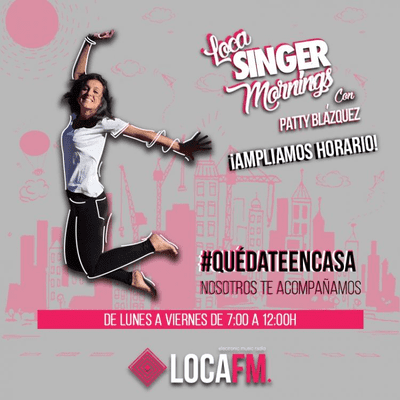 DJ Jorge Gallardo Radio - Loca FM Promo Re-Debut Party at Parc de la Pegaso ´2020