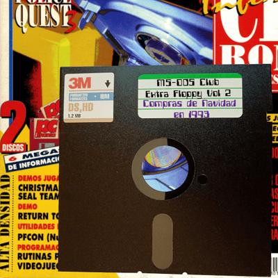 MS-DOS CLUB - MS-DOS CLUB – Extra Floppy Vol 2 – Compras navideñas con la PCManía 12 (1993)