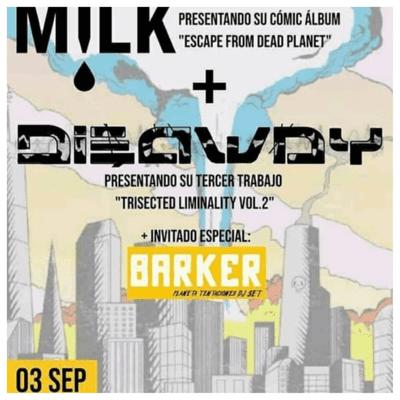 Dieaway y Milk en La Gran Travesía.