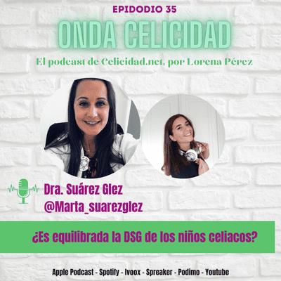 Onda Celicidad - OC035 - ¿Cómo es la dieta sin gluten de los niños celiacos? con la Dra Suárez González