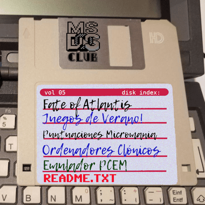 MS-DOS CLUB - MS-DOS CLUB Podcast  Vol 5  agosto de 2020