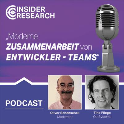 Insider Research im Gespräch - Moderne Zusammenarbeit von Entwickler-Teams, ein Interview mit Tino Fliege von OutSystems