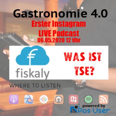 GASTRONOMIE 4.0 - Was ist TSE bei Kassen - Instagram Live Stream