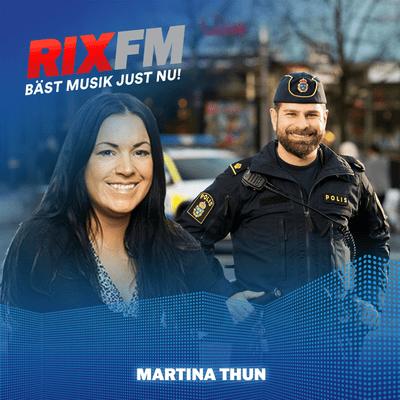Martina Thun - Hanif Azizi om flykten som 9-åring och vägen fram till polisyrket!