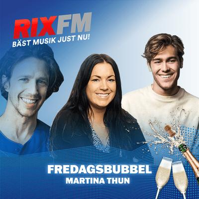 Martina Thun - Fredagsbubbel med Benjamin Ingrosso & Jakob Setterberg!