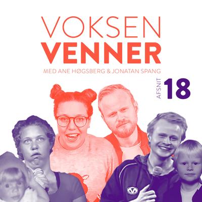 Voksenvenner - Episode 18 - Voldtægsjokes og sommerferielitteratur